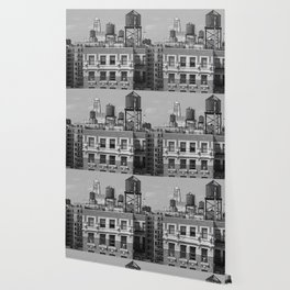 New York City Rooftops Wallpaper