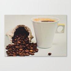 Caffeine Canvas Print