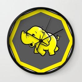 hadoop Stickers Elephant Programming Big data Sql  Developer Wall Clock
