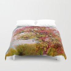 Romantic autumn Duvet Cover