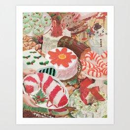 Holiday Bakes Art Print