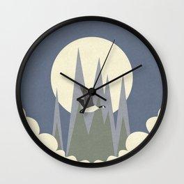 Disturbance Wall Clock