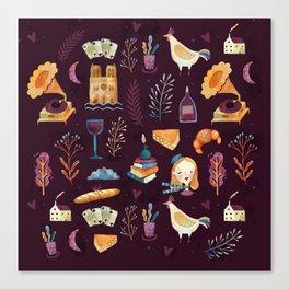 French spirit Canvas Print