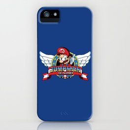 Jumpman the Plumber iPhone Case