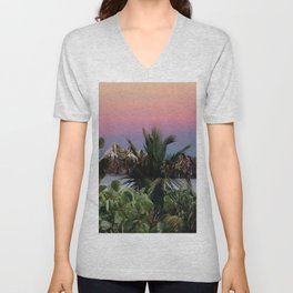 Tropical d'hiver Unisex V-Neck