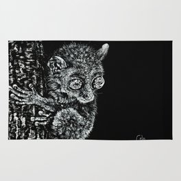 Bohol Tarsier from the Philippines Rug