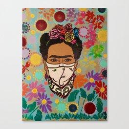 Viva La Frida! Canvas Print