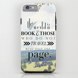 Travel. iPhone Case