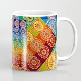 7 CHAKRA SYMBOLS OF HEALING ART #2 Coffee Mug