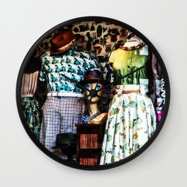 Vintage Fashion Wall Clock