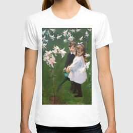 "John Singer Sargent ""Garden Study of the Vickers Children"" T-shirt"