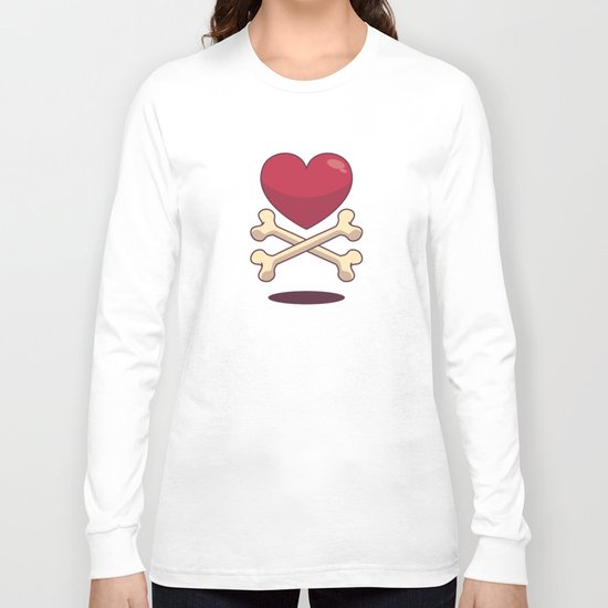 bone up on love Long Sleeve T-shirt