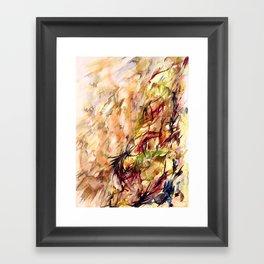 Autumnal Dialog Framed Art Print