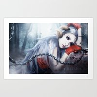 2ne1 Art Prints featuring Asmociel Cl of 2ne1 by LC_Korim