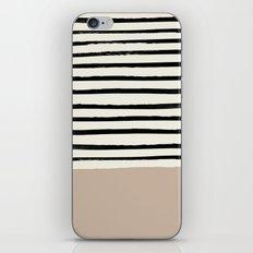 Latte & Stripes iPhone & iPod Skin