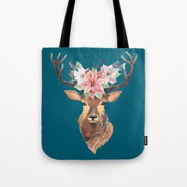 Winter Deer IV Tote Bag