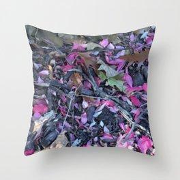 Mother Nature's Tea Throw Pillow