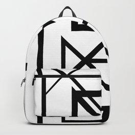 Black & White Minimal Design Nr. 2 Backpack