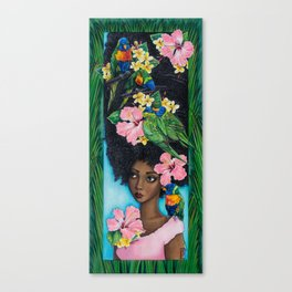 Goddess of Benevolence Canvas Print