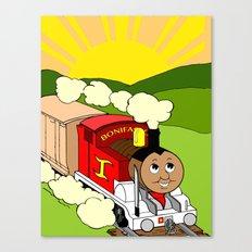 Bonifacio The Train Canvas Print