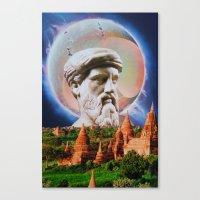 philosophy Canvas Prints featuring Philosophy by John Turck