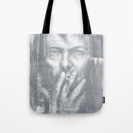 Black Star [Faded] Tote Bag