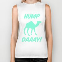 tiffany Biker Tanks featuring Hump Day Tiffany Camel by RexLambo