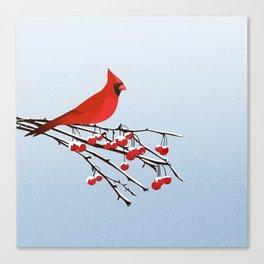 AFE Red Cardinal Canvas Print