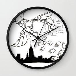Magic of Books 2 Wall Clock
