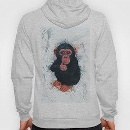Chimpanzee Art Hoody