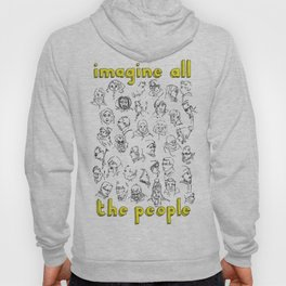 Imagine all the people Hoody