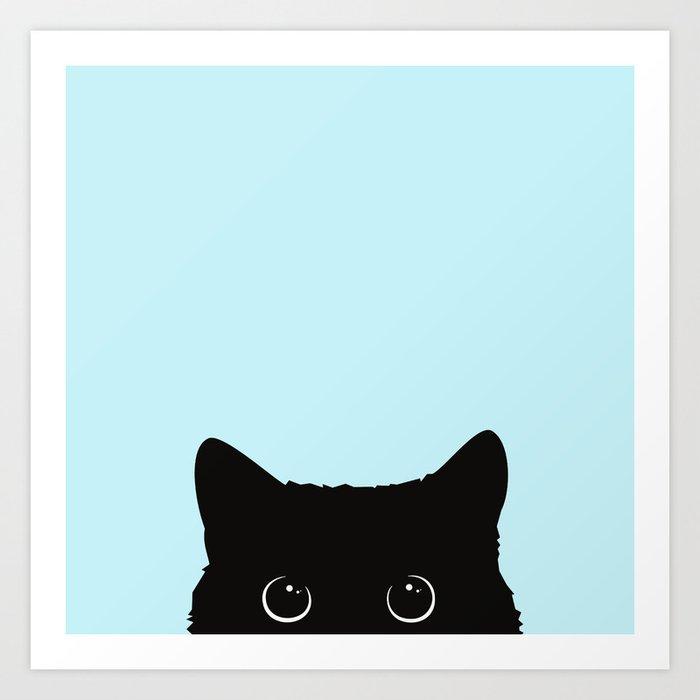 Black cat I Kunstdrucke