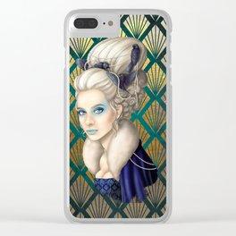 The Bluebird Renaissance Clear iPhone Case