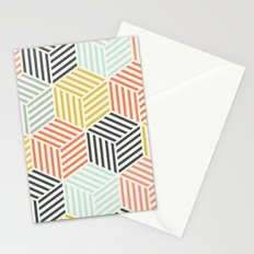 Colorful Geometric Stationery Cards