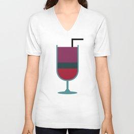 Cocktail Unisex V-Neck