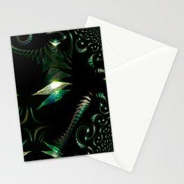 Swirling Gems - Fractal Stationery Cards