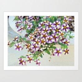 Pretty Petunias Art Print