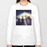 blur Long Sleeve T-shirts featuring blur by Lobos