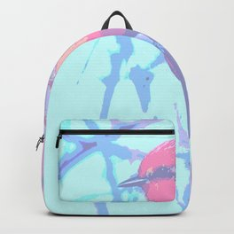 BIRD CARDENAL PASTEL Backpack