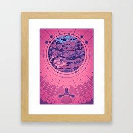 Juno's Arrival Framed Art Print
