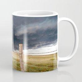 Soft - Storm Along Fence Line in Texas Panhandle Coffee Mug