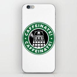 Dalek Caffeinate iPhone Skin