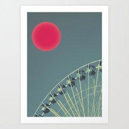 For the Suns Amusement Art Print