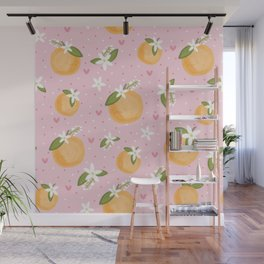 Orange Blossom Special Wall Mural