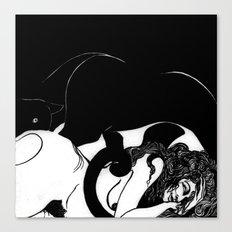 Felina V Canvas Print