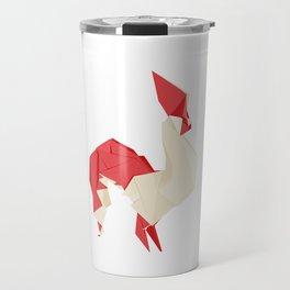 Origami Rooster Travel Mug