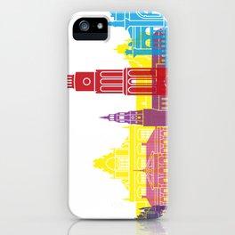 Groningen skyline pop iPhone Case