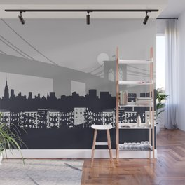 New York Graphic Wall Mural