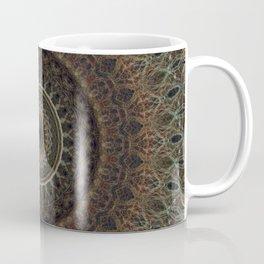 Mandala in brown tones Coffee Mug