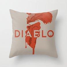 DIABLO409 Throw Pillow